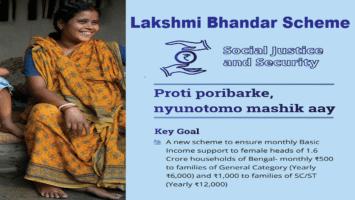 Lakshmi Bhandar Yojana West Bengal