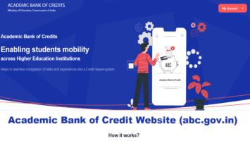 Academic Bank of Credit Website