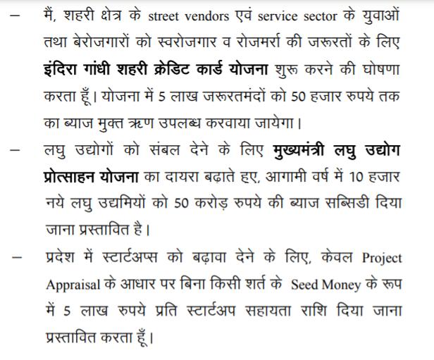 Rajasthan Mukhyamantri Laghu Udyog Protsahan Yojana Budget