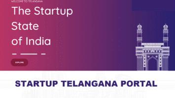 Startup Telangana Portal Registration Login