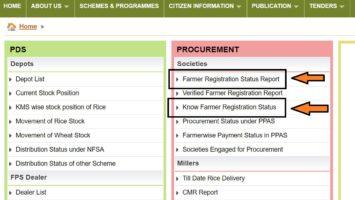 Know Farmer Registration Status Report Odisha